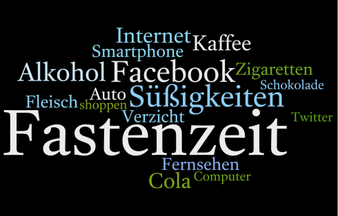 Wordle Fastenzeit