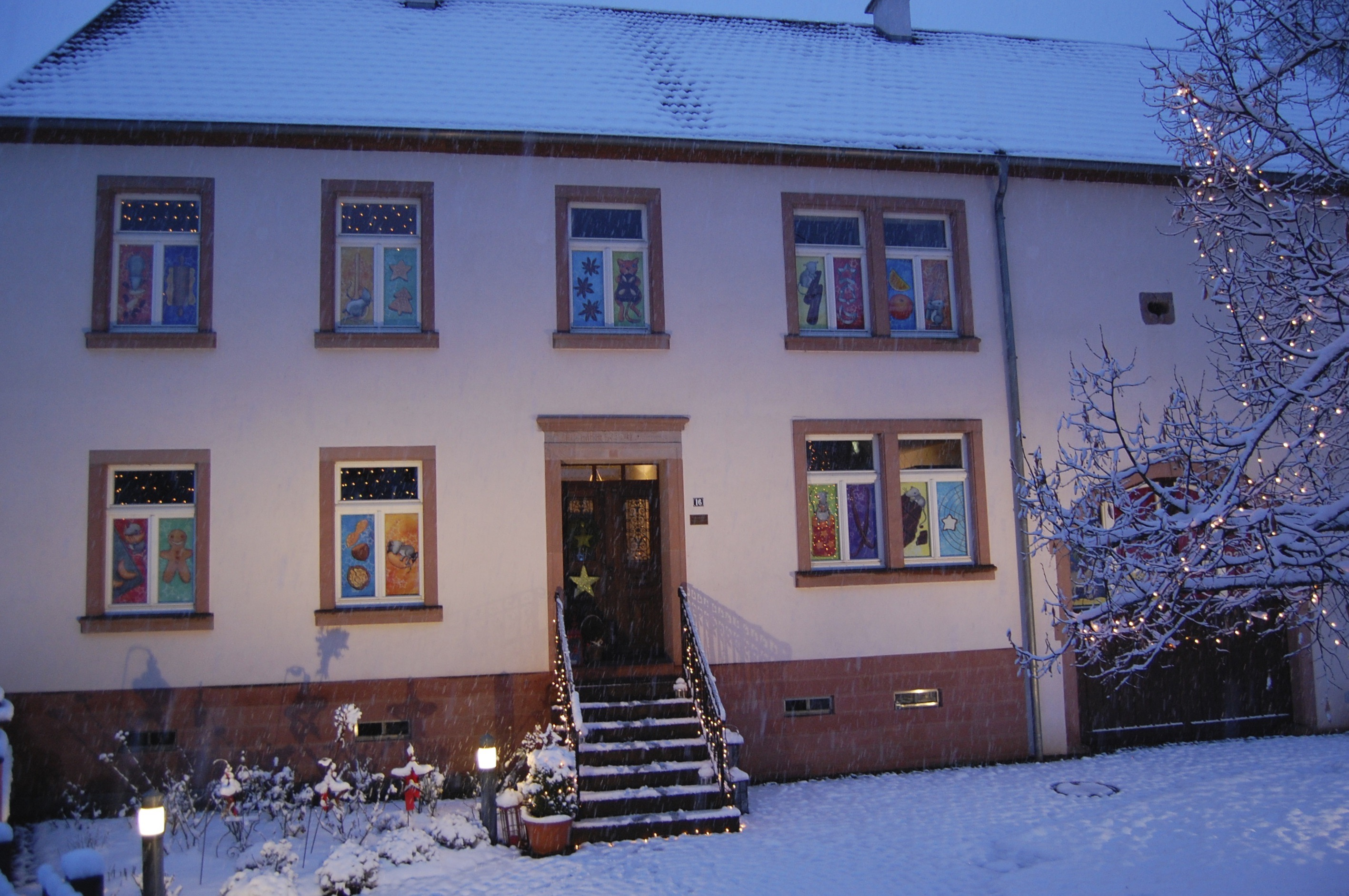 Adventskalenderhaus 2011