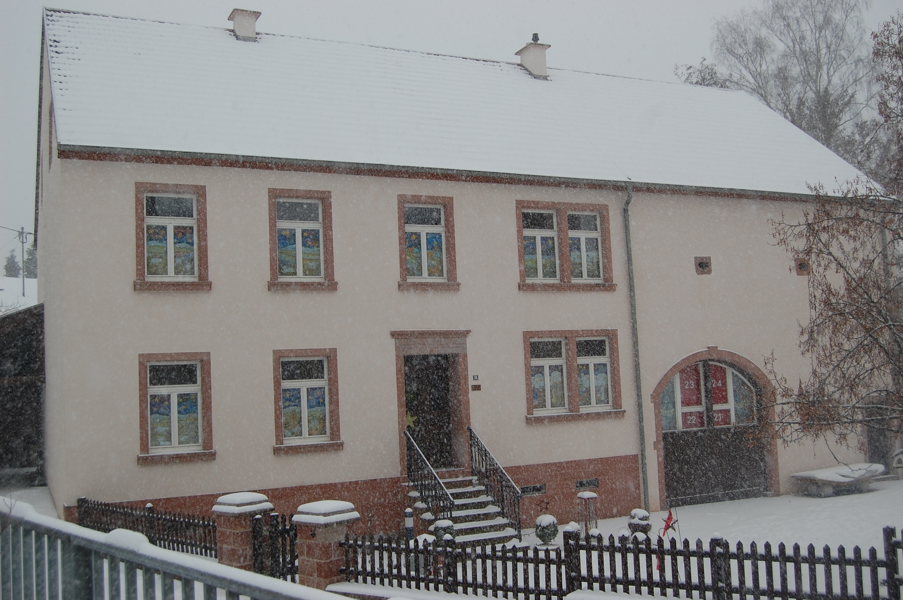 Adventskalenderhaus